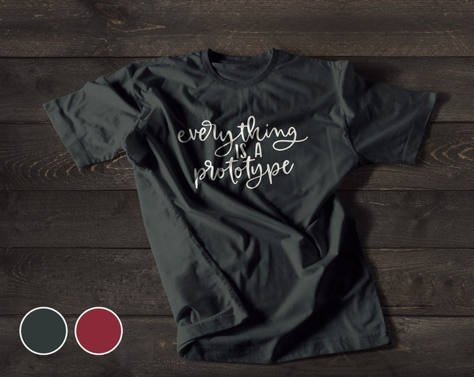 Everything is a prototype (Black & Scarlet)