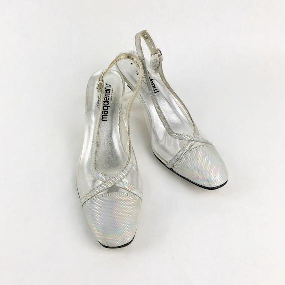 Vintage 1960's Mod Silver California Magdesians, V