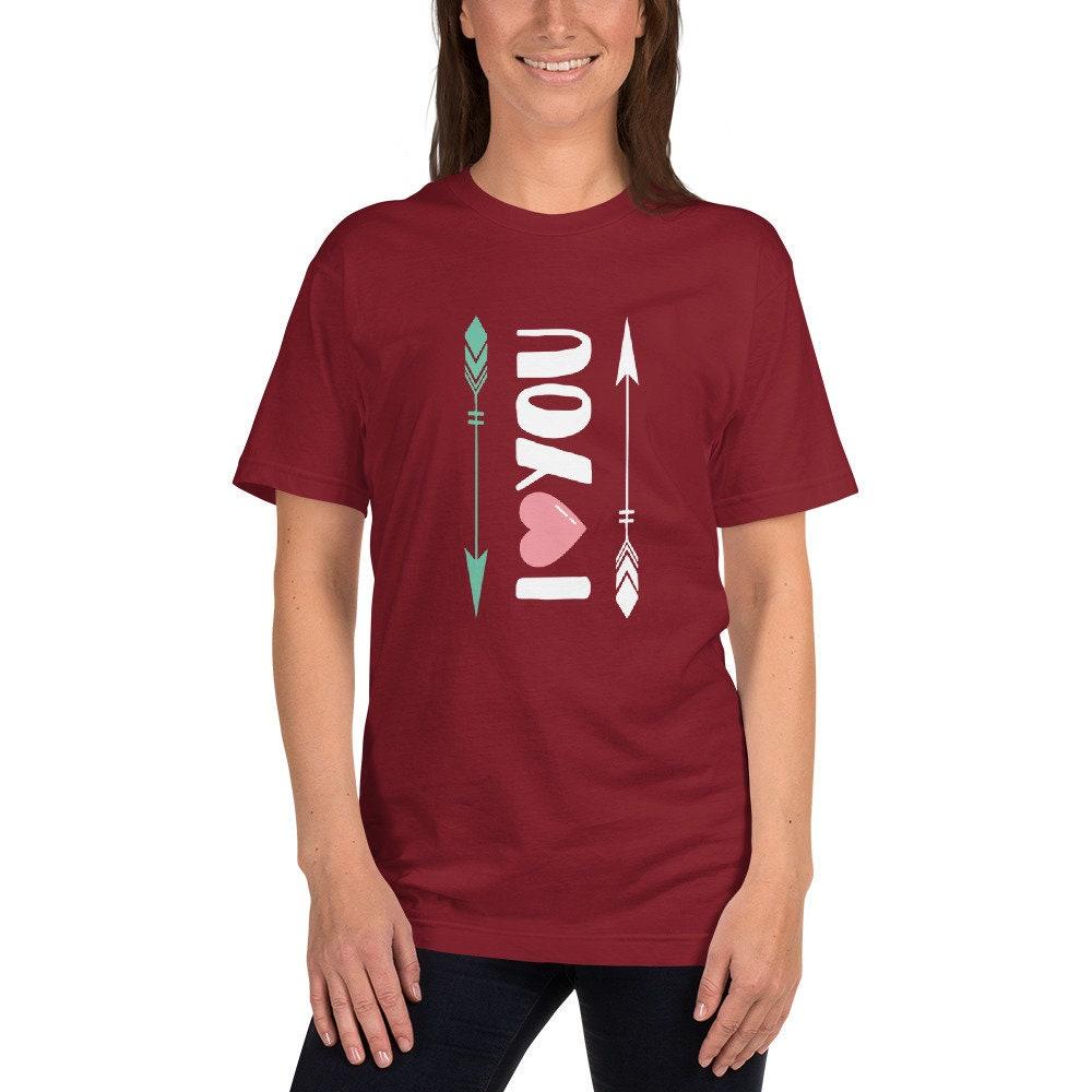 Je vous coeur, amour chemise, cadeau Valentin, de Saint Valentin, cadeau  couple e21219fa2f1