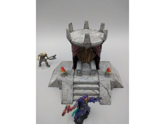 dnd Barrier Barricades WWII Urban War Apocalypse Tabletop Scatter Terrain RPG Warhammer D/&D Dungeons and Dragons Elf Miniature