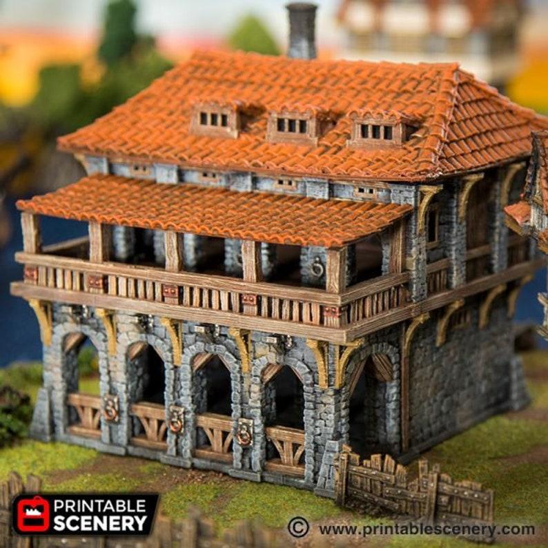 dnd Warehouse Warhammer Lost Islands Port Winterdale Scatter Terrain RPG  Warhammer D&D Dungeons and Dragons
