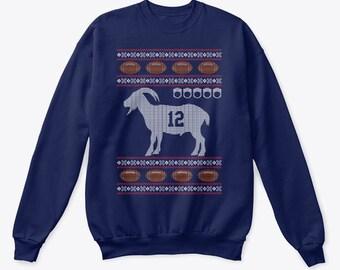 Brady GOAT Ugly Christmas Sweater f2b6ae4f5