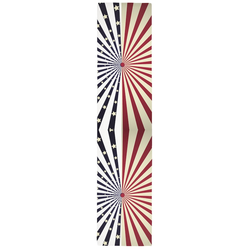 Fourth Of July 4th Of July Table Runner Table Runners American Table Runner