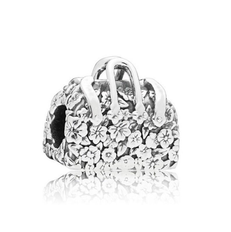 7eae569ba S925 Sterling Silver Disney Pandora Mary Poppins Bag Charm | Etsy