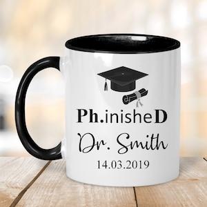 Phd Graduation Gift Etsy