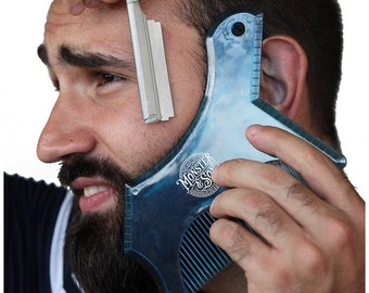 Beard Shaping Tool by Monster&Son - Classic Oversized Design
