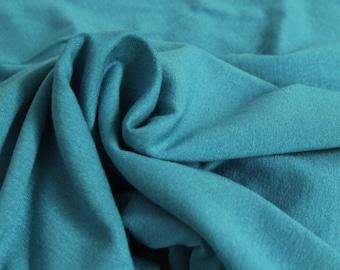 10 Euro/lfm viscose jersey turquoise 1 m x 1.50 m