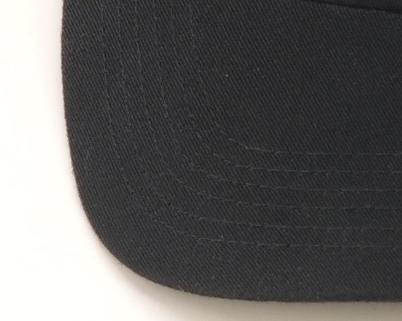 Google Black Hat Cap Logo Embroidered Adjustable Strapback Metal Clasp Cotton