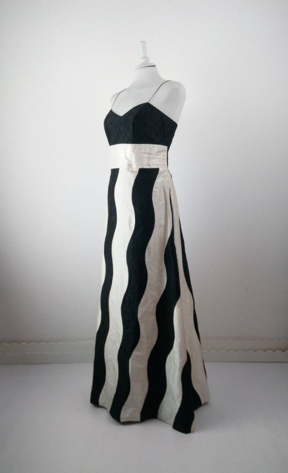 Vintage 30s style evening dress