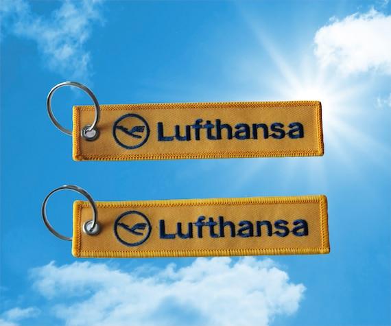 Finnair keychain luggage baggage tag