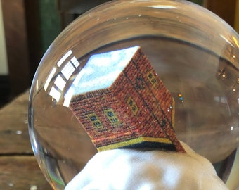 """Snowglobe by Kate Vita - """"A House Asunder """" Limited Edition of 25"""
