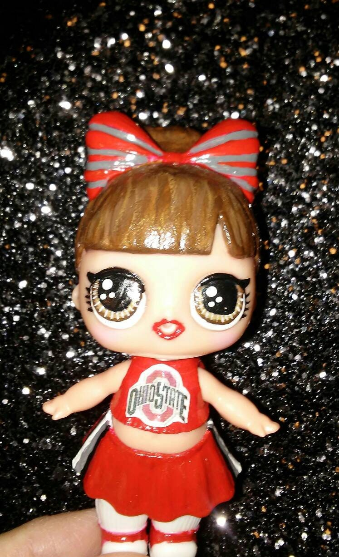 Custom OOAK Cheerleader lol doll any team you want | Etsy