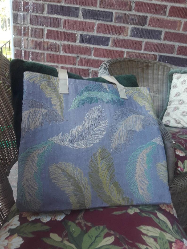 Upholstery fabric simple tote Kathy II