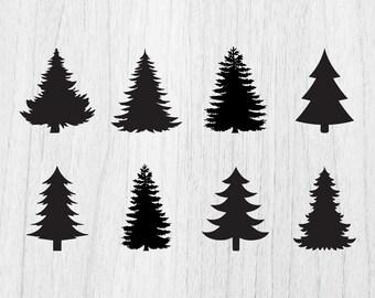 christmas tree svg etsy