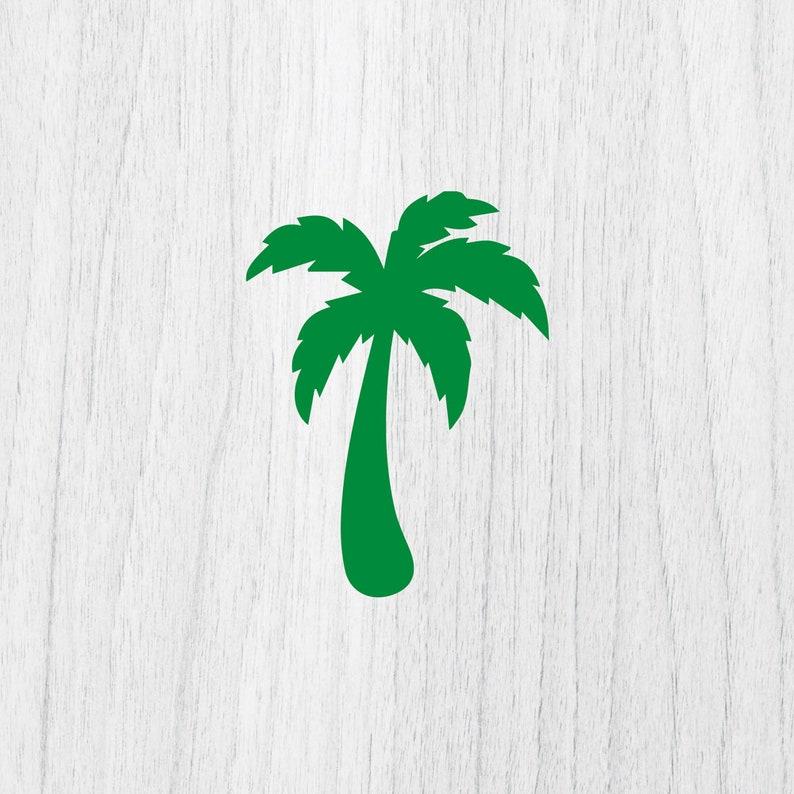 Palm Tree Svg Palm Tree Monogram Svg Tropical Tree Svg Etsy