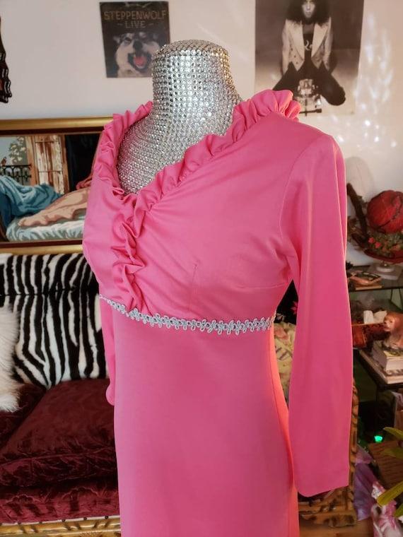 Bubble gum pink barbie dream dress