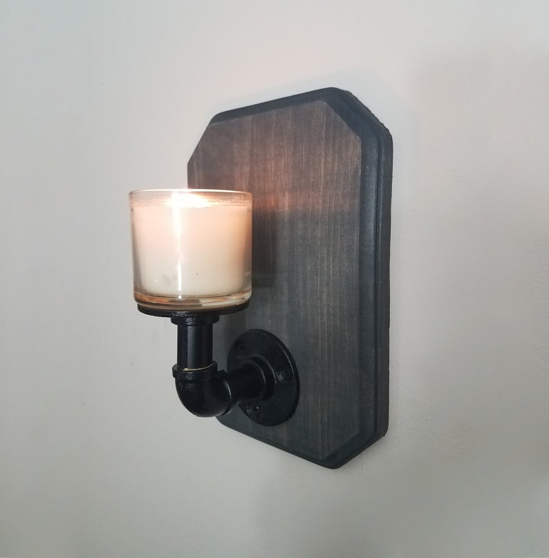 timeless design ee935 a3aa3 Wood Candle Holder, Wall Candle Sconce, Wall Candle Holder, Wood Wall  Sconce, Wooden Candle Holder, Tea Light Holder, Tealight Holder