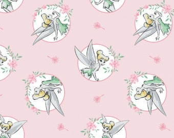 Disney Bambi Thumper Flower fabric nursery cotton sold by the half metre