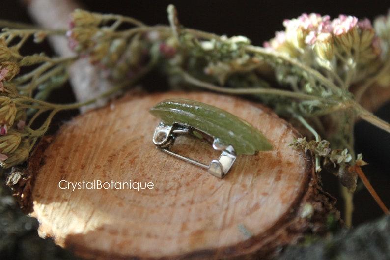 Brooches with flowersEpoxy resin jewelry  Mini brooch  Brooch birdOriginal brooch  Brooch with real plants Original present