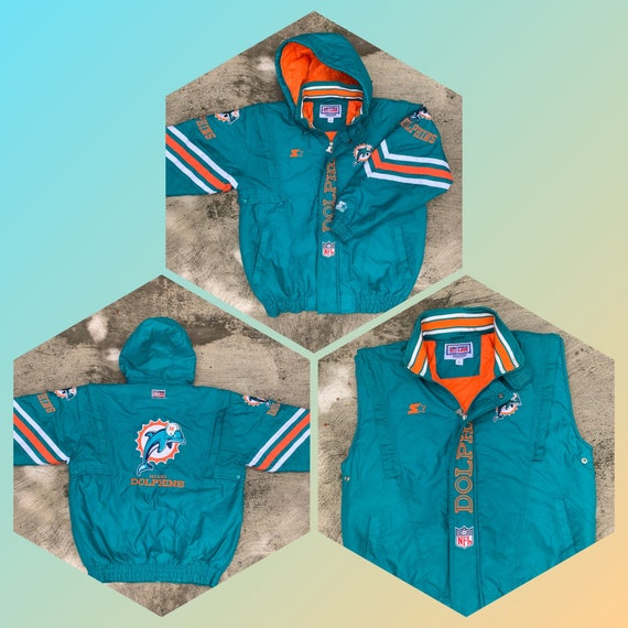 Vintage Starter Miami Dolphins full zip jacket-ves