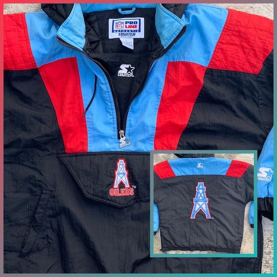 RARE vintage starter Houston / Tennessee NFL Oiler