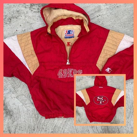 Vintage starter San Francisco 49ers pullover half