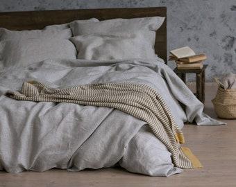 Linen Duvet Cover, Linen Bedding Set, Natural Linen Duvet, Custom Linen Bedding, Duvet Cover Linen, Linen Quilt Cover, Natural Bedding