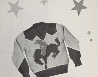 Knit O Graf Sweater Etsy