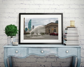 Union Station | Toronto 1922 & Now - Print #12 | Poster - Wall Art - Home Decor - Digital Print - Then/Now Photography