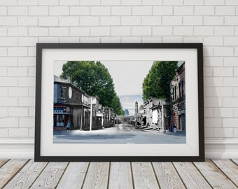 Johnson Street - Douglas Street | Victoria 1887 & Now - Print #8 | Poster - Wall Art - Home Decor - Digital Print - Then/Now Photography