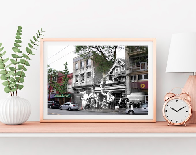 Chinatown - Pender St. | Vancouver 1938 & Now - Print #25 | Poster - Wall Art - Home Decor - Digital Print - Then/Now Photography