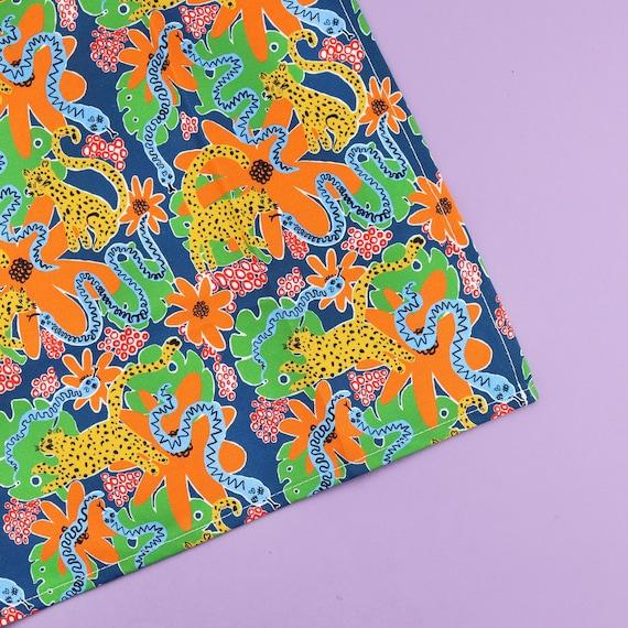 Funk Jungle Print Tea Towel