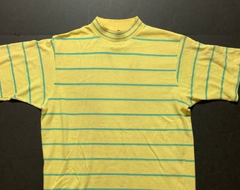 8d1b39146 Vintage JC Penney Striped Tshirt -- Vintage Unisex Tshirt