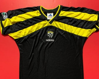 9edb89b1a Vintage MLS Columbus Crew Soccer Jersey -- Vintage Unisex Jersey