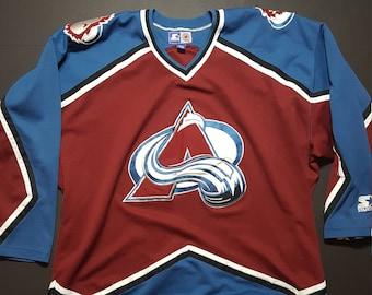 Vintage NHL Colorado Avalanche Hockey Jersey -- Vintage Unisex Jersey c2060b3b1