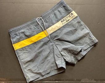 ac67c8b390236 Vintage Nautica Swim Shorts -- Vintage Unisex Swim Shorts