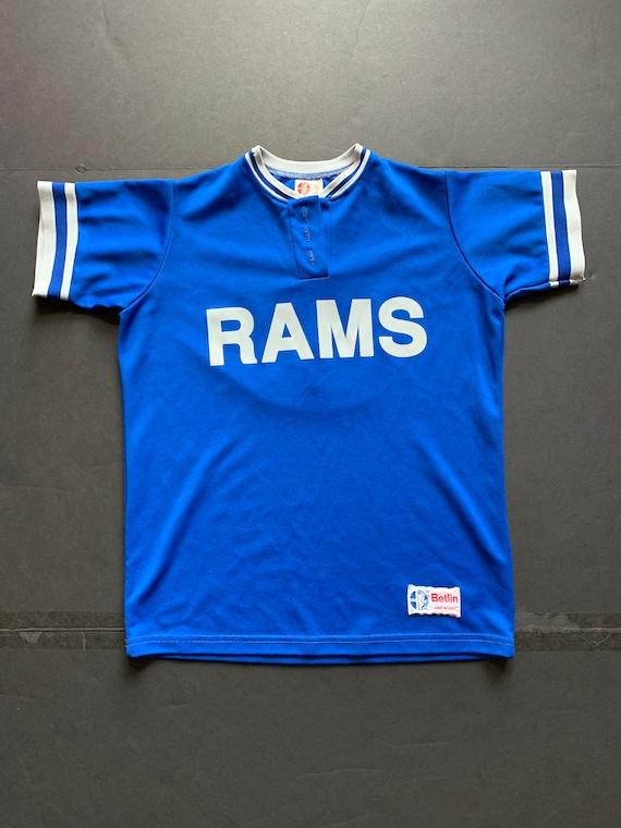 Vintage 80s Jersey Shirt -- Vintage Unisex Jersey