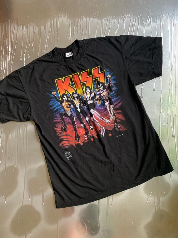 Vintage 1996 KISS Destroyer 20 Years Band Tshirt S