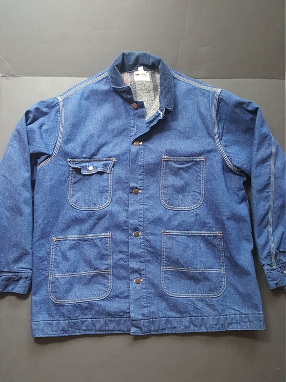 Vintage Western/ Chore Coat/ Utility Coat Style De