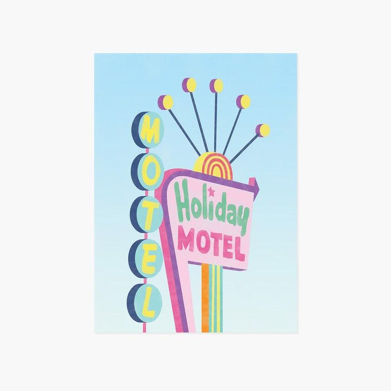 Holiday Motel Card