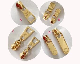 58e0d9f409e0 2pcs 3  5  LV Purse bag belt strap zipper puller, Zipper Tags