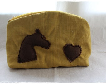 Pencil bag for horse lovers and bullet journaling