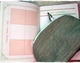 Bullet log pink theme - calendars to download