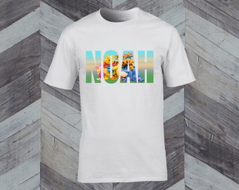 247f3fd7c Winnie The Pooh Themed White Childrens T-Shirt Ages 3-12 Personalized Any  Name Named Sublimation Personalised Custom Design Your Own