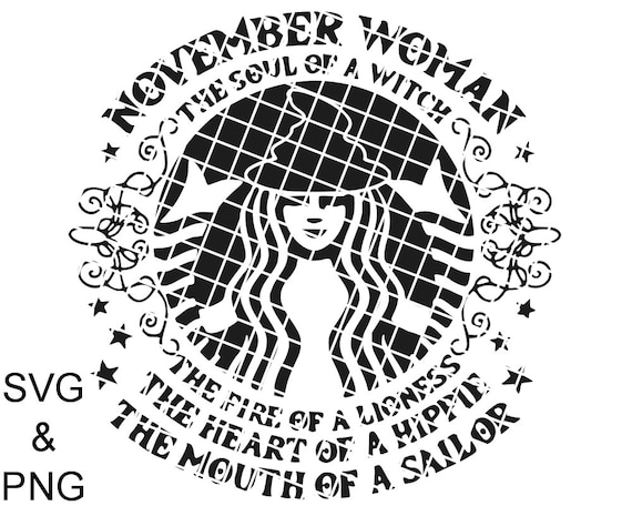 November woman, Soul of a witch SVG