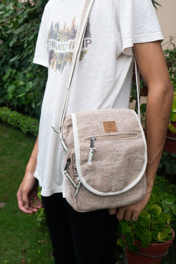 Hemp Side Hand Bag