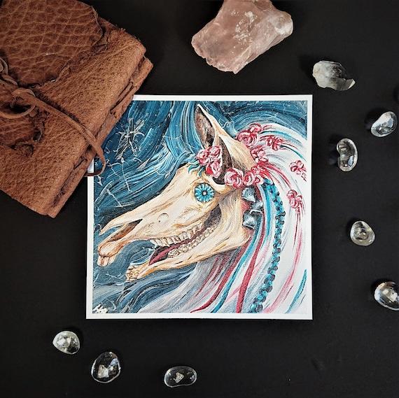 Art Print - Mari Lwyd