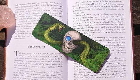 Bookmark - Skull & Snake