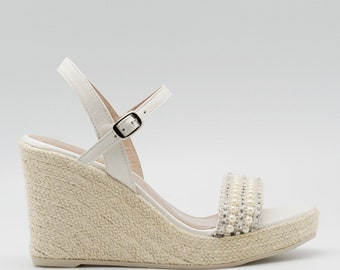 57319ad271ad69 Wedge wedding shoes
