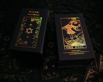 The Neo Rider Tarot Collection - The Shadow Deck , 78 Tarot Decks + Booklet, major and minor arcana